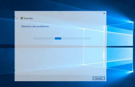 حل مشكل الشاشة الزرقاء تلقائيا ( ويندوز 10 )