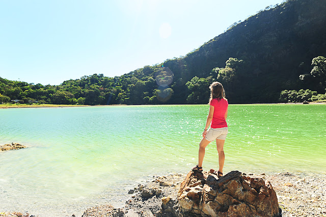 čudovita Laguna de Alegria v El Salvadorju