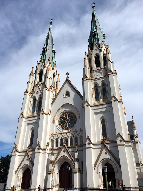 The Cathedral of Saint John the Baptist in Savannah Georgia