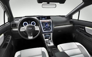 2017 Subaru Legacy Interior