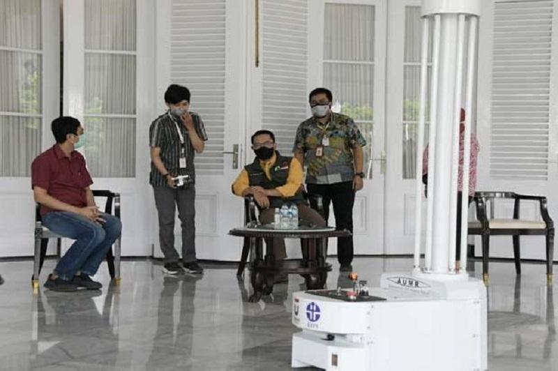 RS Rujukan Corona di Jabar Bakal Dilengkapi Robot Antivirus Karya Anak Bangsa