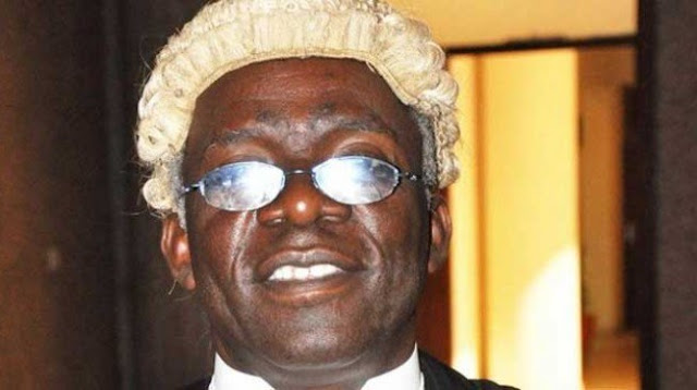 Falana asks house of reps to suspend Jibrin's probe