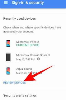 Google account device activity check kese kare 3