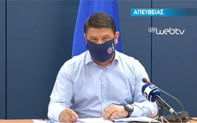 Χαρδαλιάς: Αυτά είναι τα 2 νέα μέτρα κατά κορωνοϊού στη Βόρεια Ελλάδα