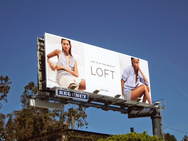 Loft Summer 2014 fashion billboard