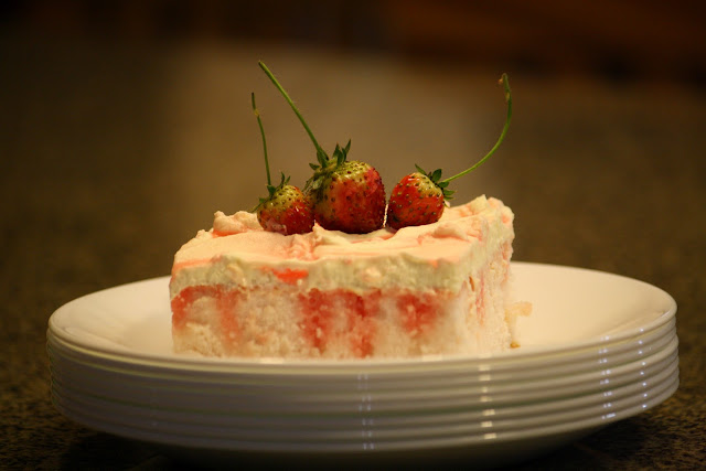 Torta de limonada y frutilla / Strawberry-Lemonade cake