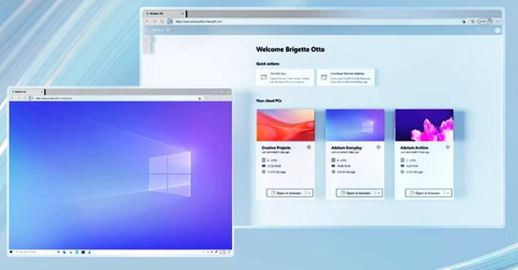Microsoft Announce The New Windows 365 Cloud PC