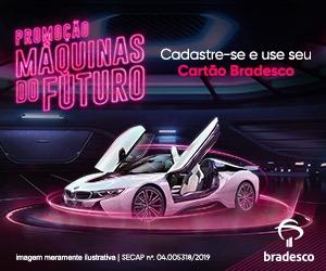 Promoção Máquinas do Futuro Bradesco