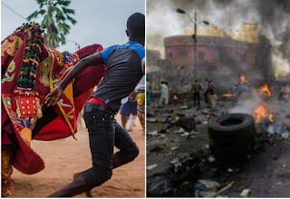 Popular Ibadan festival, Egungun turns bloody as one confirmed dead, others injured 1