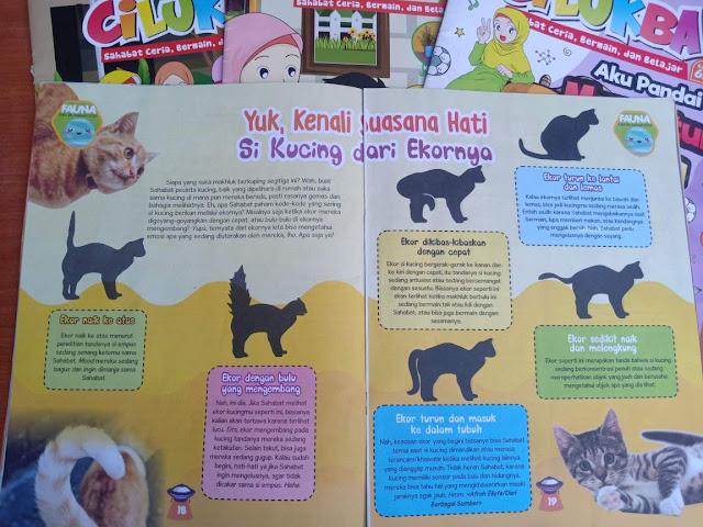 rubrik fauna di majalah cilukba