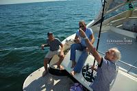 Рибалка на яхті