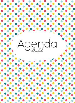 agenda, digital, 2022, tablet, movil, stickers, descargar