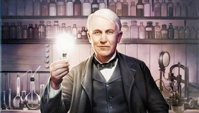 توماس إديسون مخترع الكهرباء