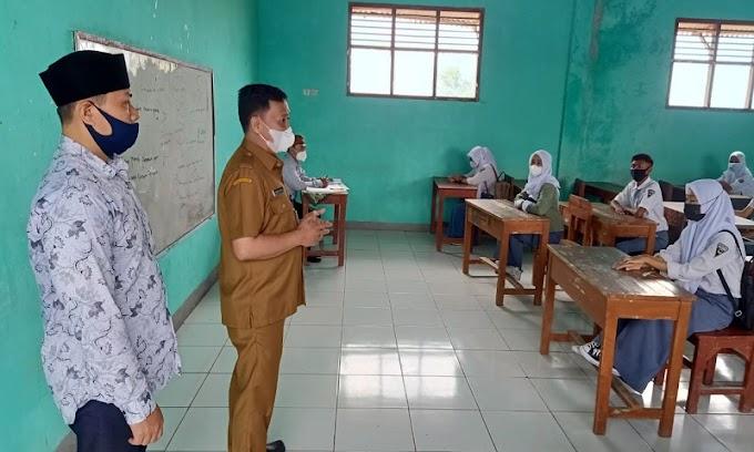 SMK Gema Bangsa Cisoka Siap Gelar Pembelajaran Tatap Muka (PTM) Dengan Protokol Kesehatan yang Ketat
