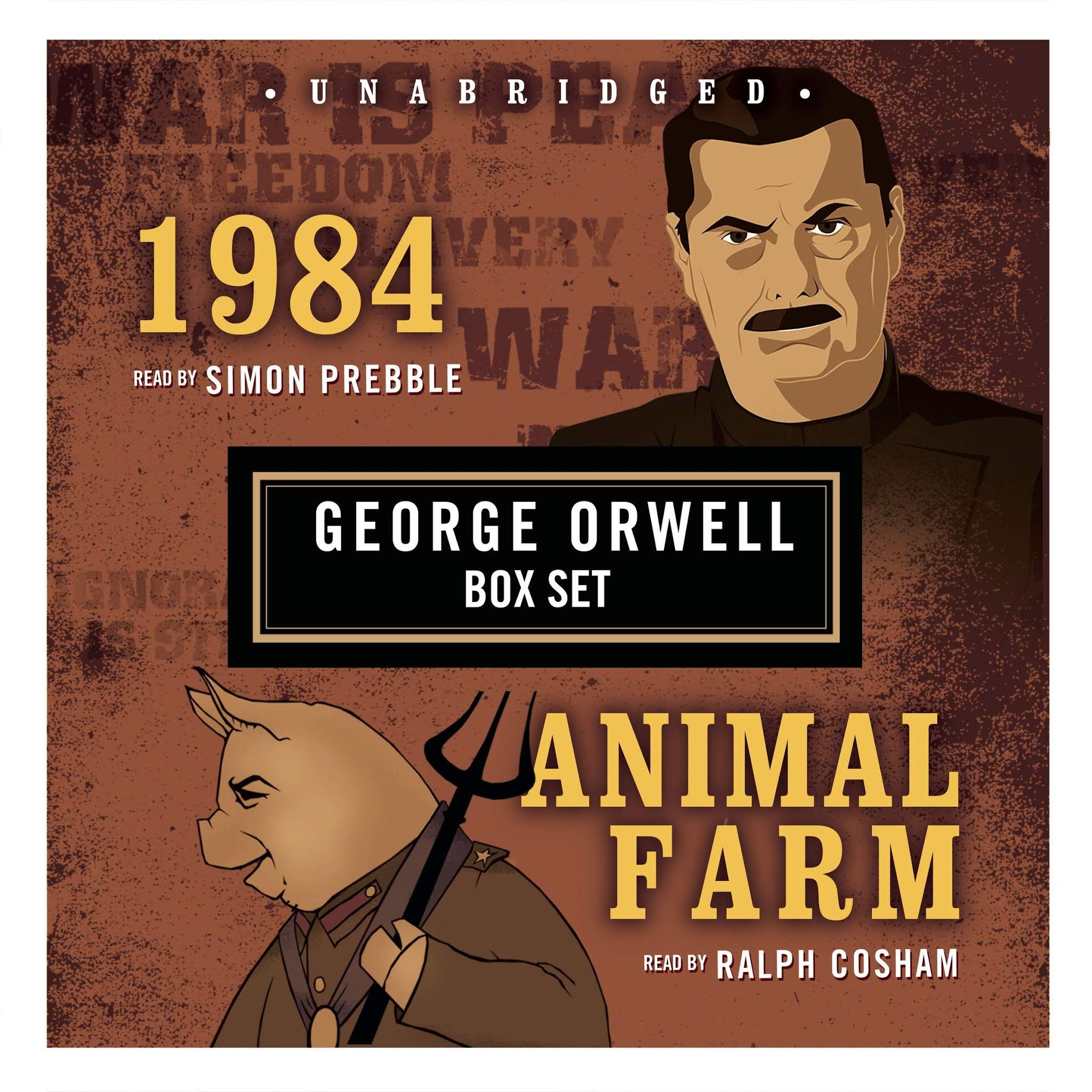 Laporan Buku 1984 and Animal Farm karya George Orwell