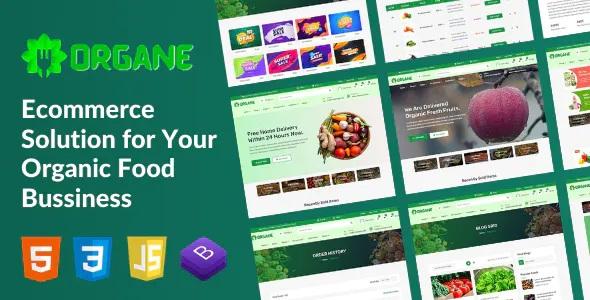 Best Organic Food HTML Template