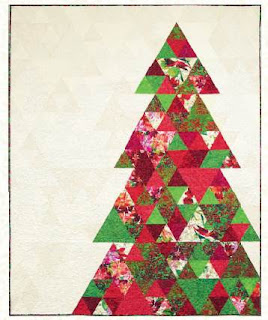 Quilt Inspiration: Free pattern day: Christmas quilts (part 1): Trees! : christmas quilt designs - Adamdwight.com