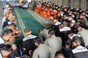 Doa Bersama Bina Terbang Siswa Sekbang Helikopter Angkatan 97