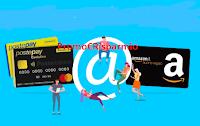 Logo Concorso PostePay Premia : vinci gratis 150 buoni Amazon da 50€ e 3 buoni da 500€