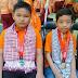 Arek loro seng dadi kebanggaane wong-wong Kuto Nggersik sukses ngolehno medali ndok Olimpiade IMC (International Mathematics Contest)