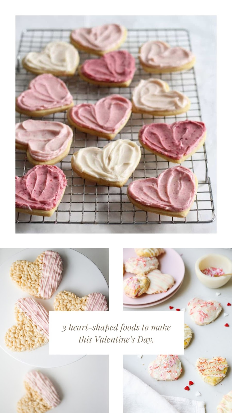 3 heart-shaped foods to make this Valentine's Day