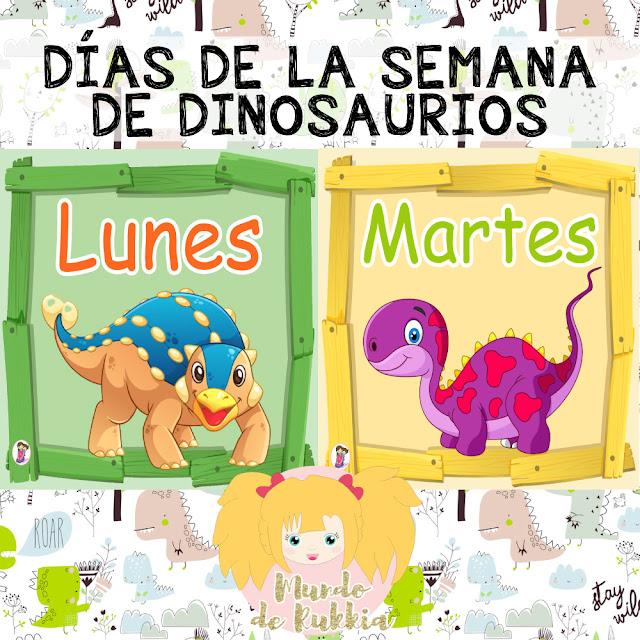 dias-semana-dinosaurios