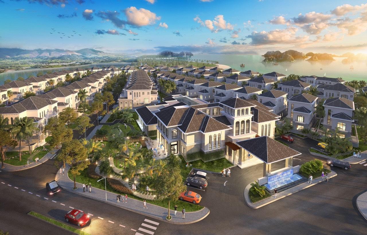 Phối cảnh Biệt thự Grand Bay Hạ Long