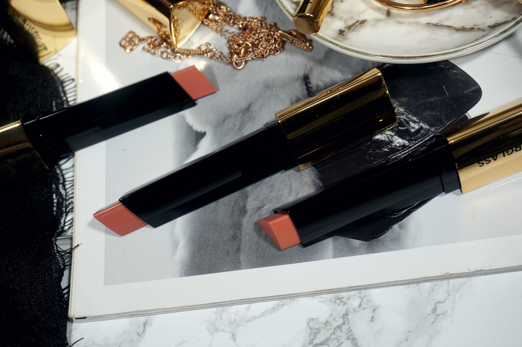 Hourglass Vanish Blush Stick Review and Swatches