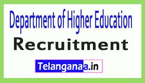 Department of Higher Education DHE Recruitment