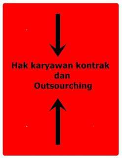 apa saja hak karyawan kontrak dan outsourching