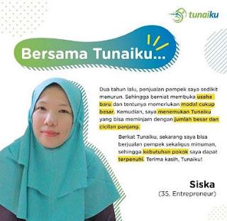 Tunaiku merupakan salah satu produk dari Amar Bank, yang sudah beroperasi dari tahun 1991. Sementara Tunaiku sendiri berdiri dari tahun 2014 sebagai s