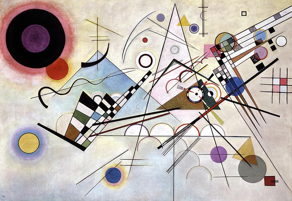 'Composición VIII' de Vasily Kandinsky