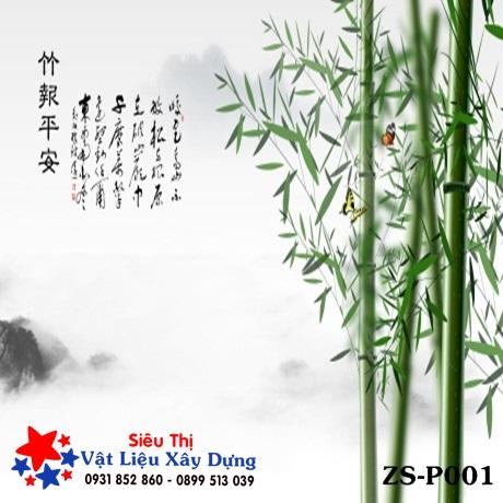 Tấm ốp PVC Tranh 3D - ZS-P001