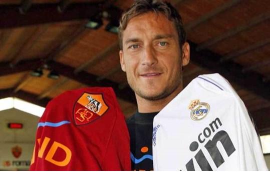 Ngay cả 1 biểu tượng về lòng trung thành là Totti cũng từng suýt gia nhập Real vài lần