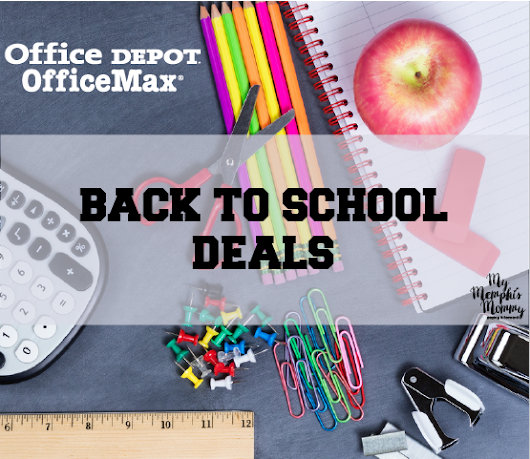 Office Depot & Office Max Back to School Deals through 7/29!