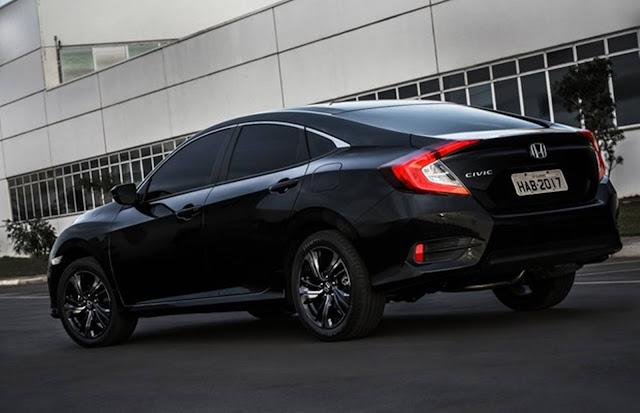 Novo Honda Civic Sport 2017 - versão de entrada