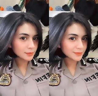 5 Pesona Briptu Sefin, Saking Cantiknya Diminta Netizen Untuk Daftar Putri Indonesia