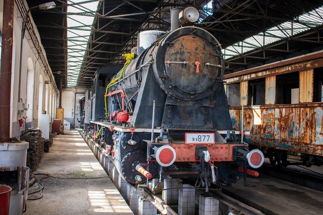 Βαγόνια του Οριάν Εξπρές-ατμομηχανές από το 1929 «ζωντανεύουν» στη Δράμα