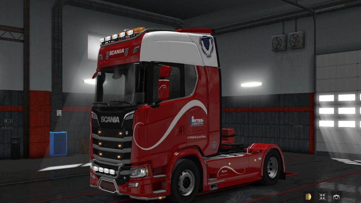 Inter Logistic Skin for Scania S