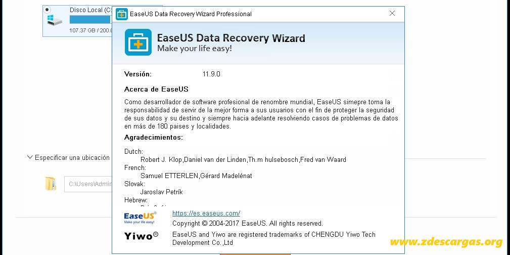 EaseUS Data Recovery Wizard Full Español
