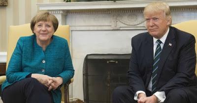Angela Merkel, Donald Trump, Chancellor of Germany, White House, Handshake, Foreign,