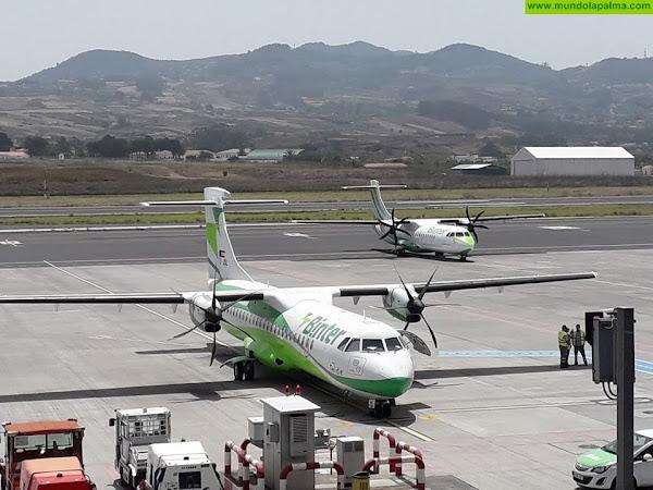 Binter está operando con normalidad sus rutas con La Palma y resto de islas