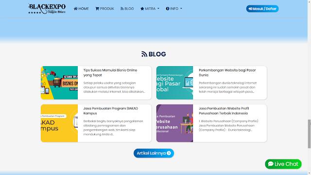 Aplikasi Web Toko Online Professional 7