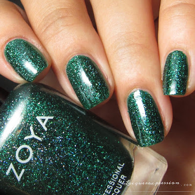 Nail polish swatch of Merida from the Fall 2016 Urban Grudge Metallic Holos collection by Zoya
