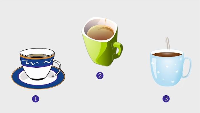 Выбранная чашка покажет, что вас ждет в ближайшем будущем