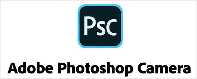 تطبيق photoshop camera