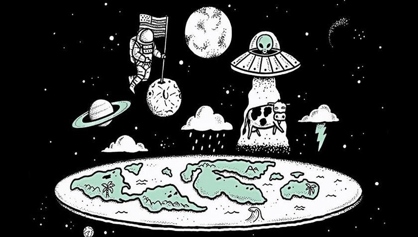 «Теорія плоскої Землі»