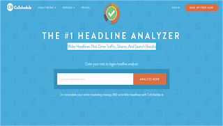 Co- Schedule Headline Analyser