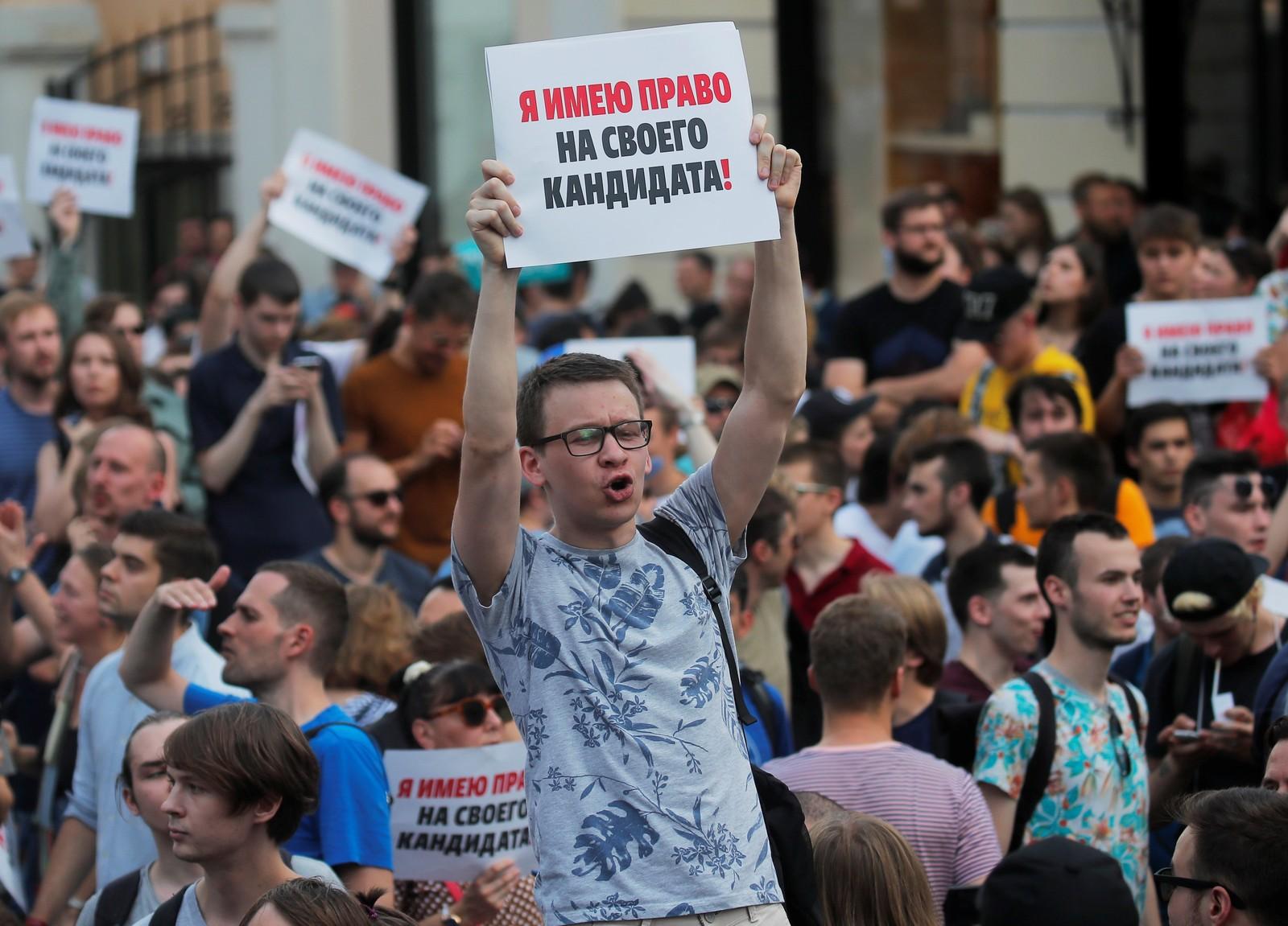 ONU repreende Rússia por uso de força contra manifestantes