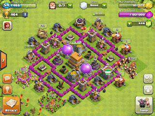 Strategi Clash Of Clans Town Hall Level 6